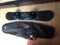 K2 snowboard+K2 obal+Flow vázání
