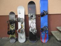 Snowboard a boty