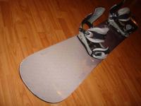 Snowboard komplet GRAVITY 158cm bazar ZÁRUKA