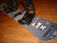 Snowboard komplet PROJECT 157cm bazar ZÁRUKA