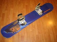 Snowboard komplet ASSASSIN 152cm bazar ZÁRUKA
