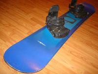 Snowboard komplet NALE 151cm bazar ZÁRUKA