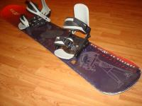 Snowboard komplet AXCES 141cm bazar ZÁRUKA